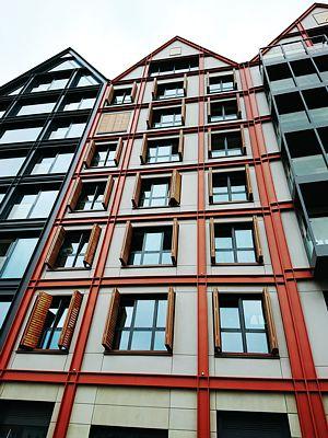 Gdańsk Deo Plaza elewacje i okna